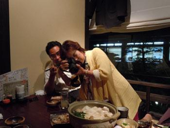 飯塚さんと加藤先生