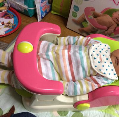 赤ちゃんお風呂椅子